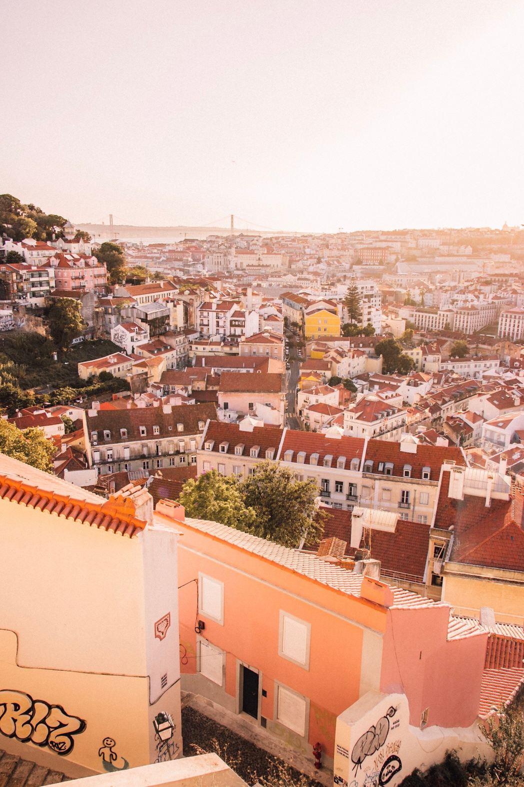 I 20 tramonti più belli d'Europa: Lisbona