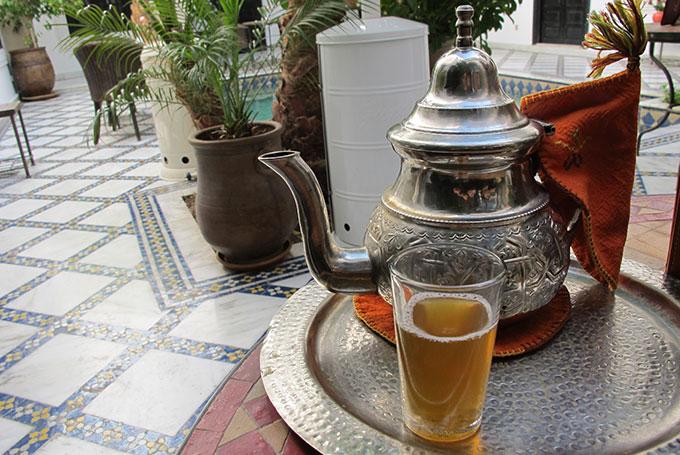 Mint tea, Marrakech
