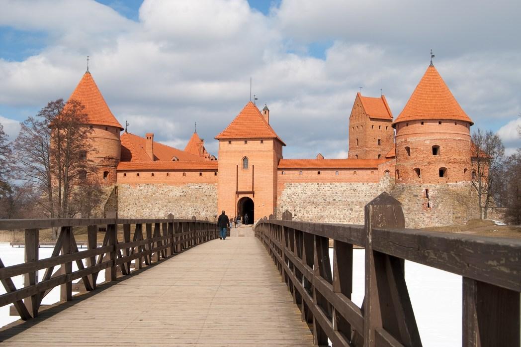 Repubbliche baltiche, Lituania: Castello di Trakai