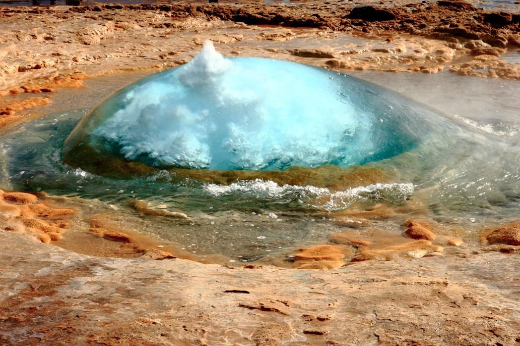 L'area di Geysir