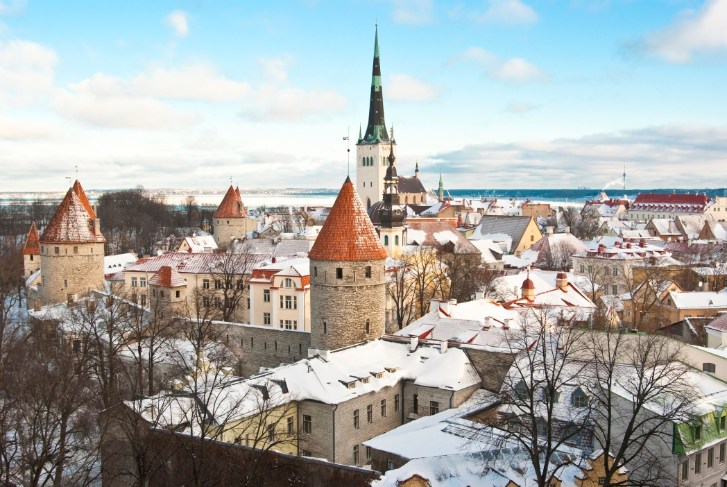 Repubbliche baltiche: Tallinn in inverno