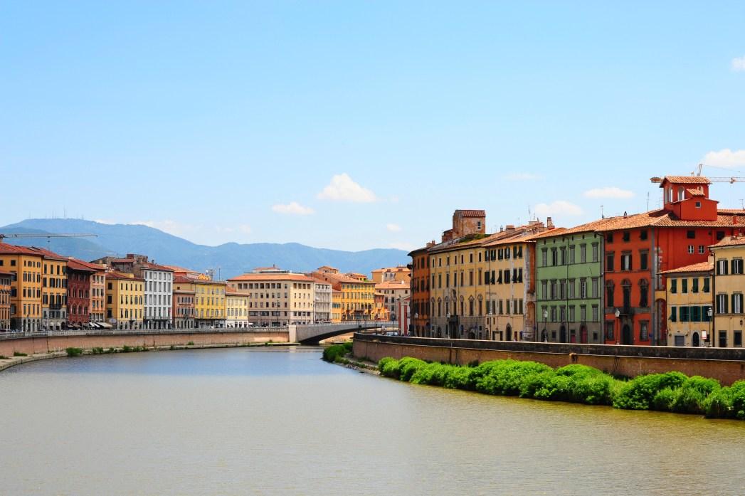 18 città italiane per il 2018: Pisa