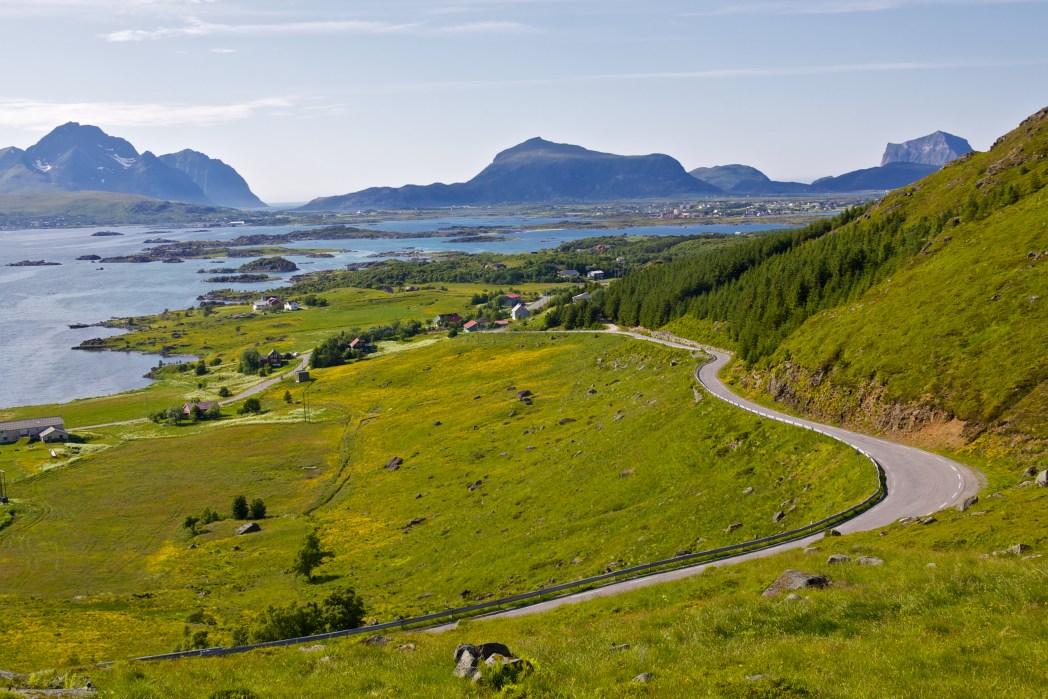 Natura alle Isole Lofoten