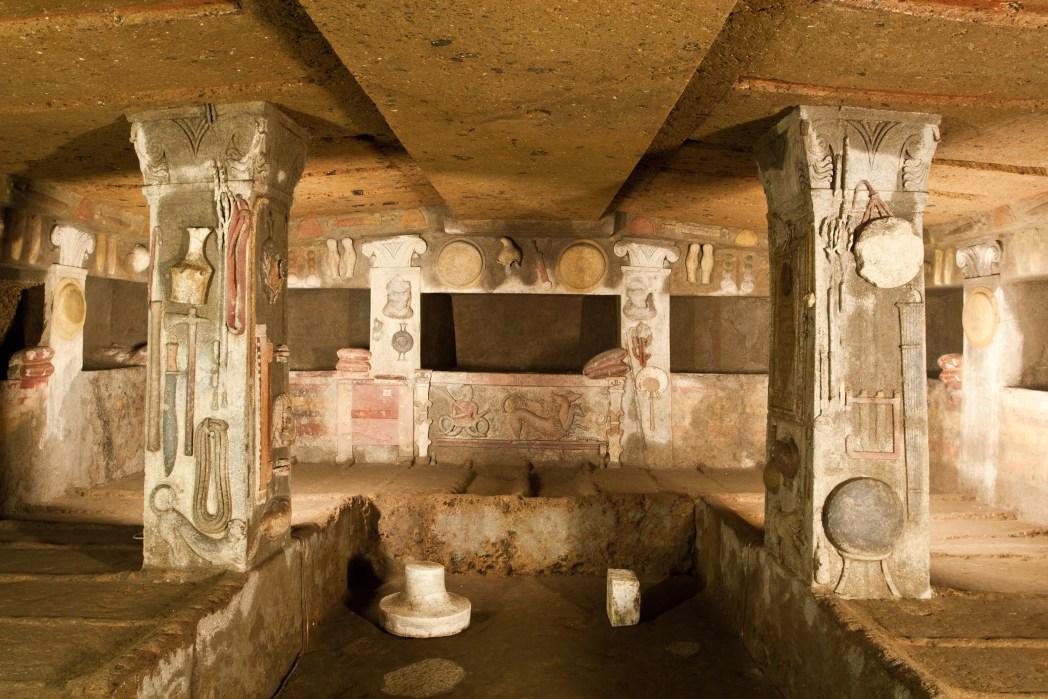 Posti da vedere in Italia, siti UNESCO: Cerveteri e Tarquinia