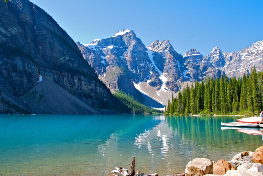 I posti più belli del mondo: Moraine Lake