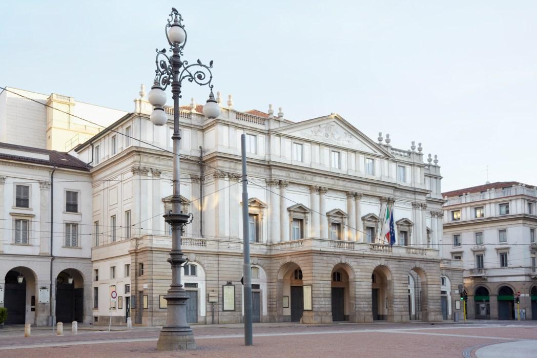 Milano, quartieri: Teatro alla Scala