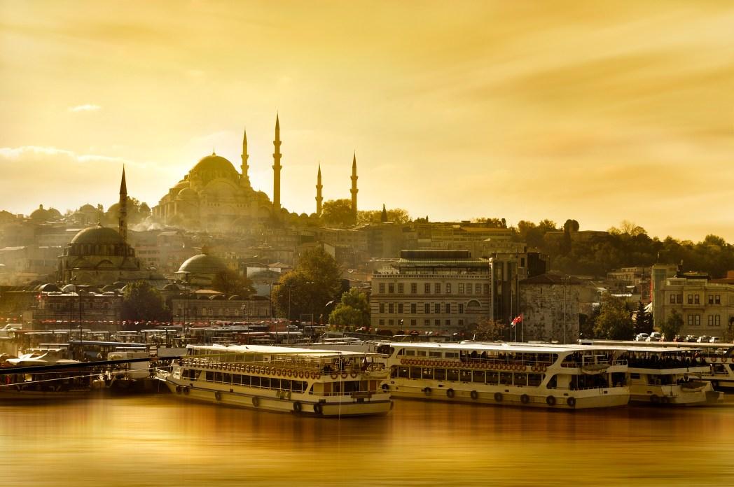 I 20 tramonti più belli d'Europa: Istanbul