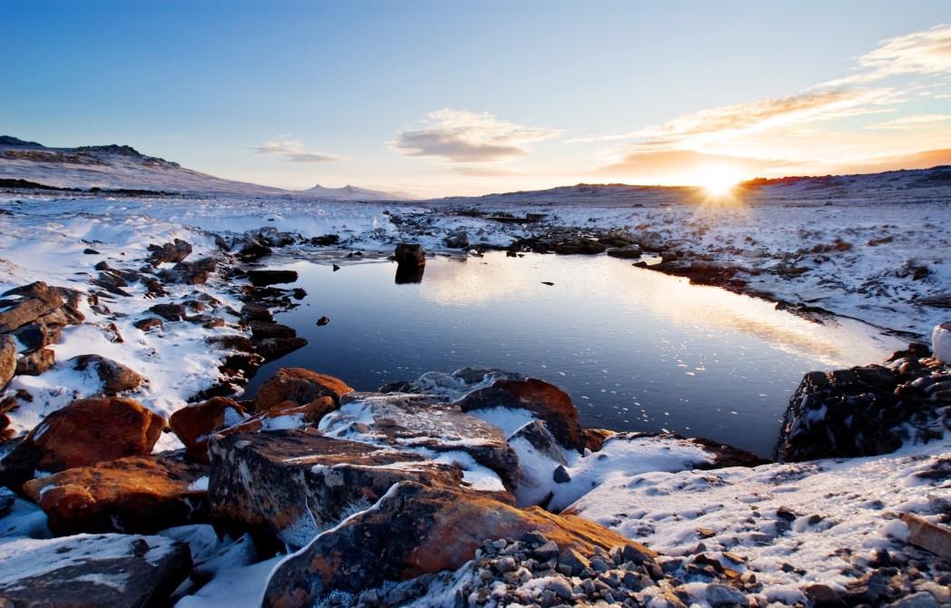 Paesaggio delle Isole Falkland