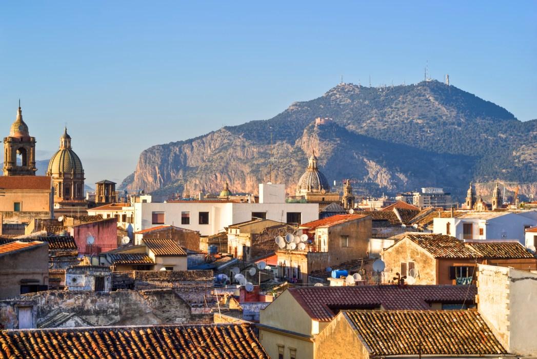 Veduta della città di Palermo