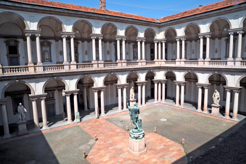 Quartieri di Milano - pinacoteca di Brera