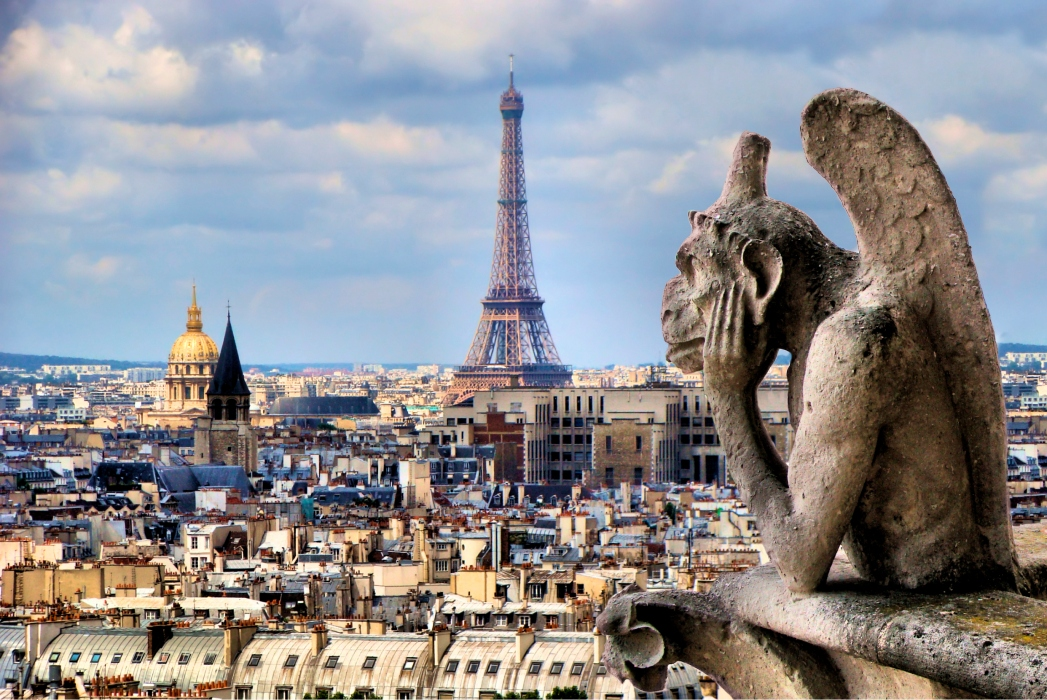 Voli low cost Ferragosto: Veduta di Parigi