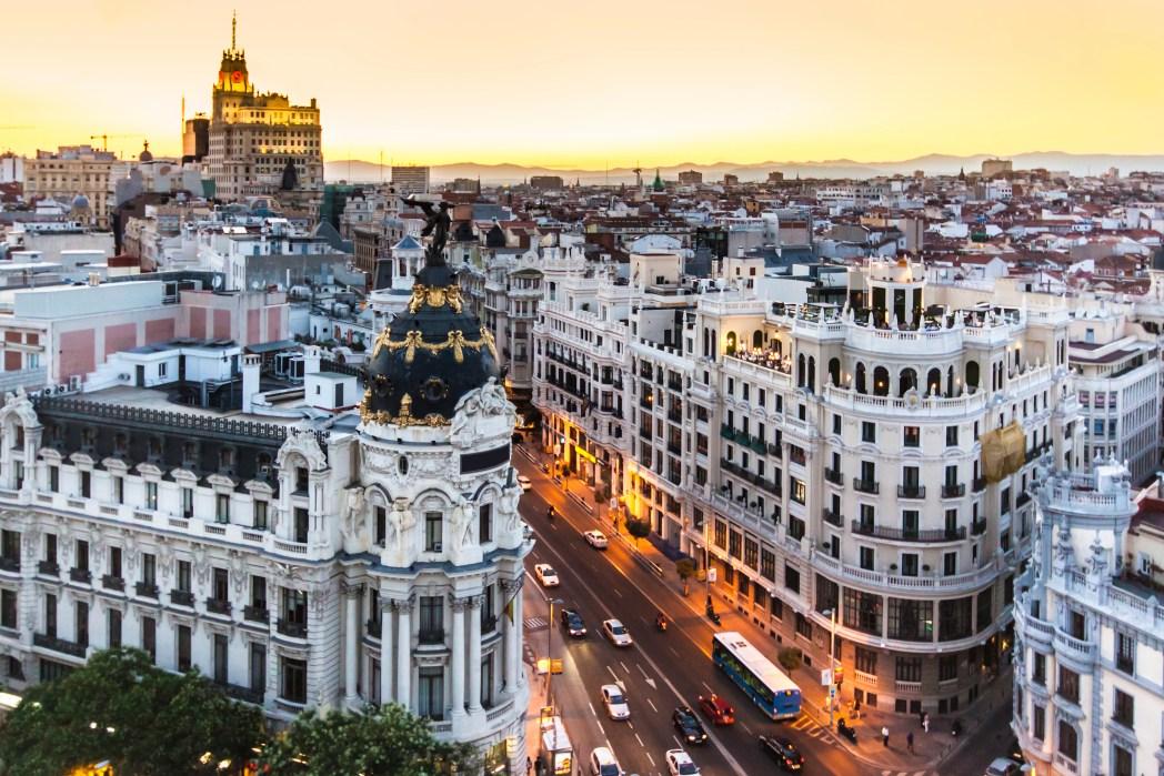 Madrid cosa vedere Gran Via
