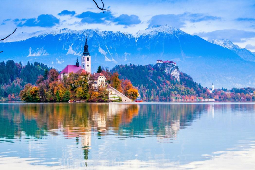 Natale in Europa: 30 città da scoprire: La bellissima città lacustre di Bled
