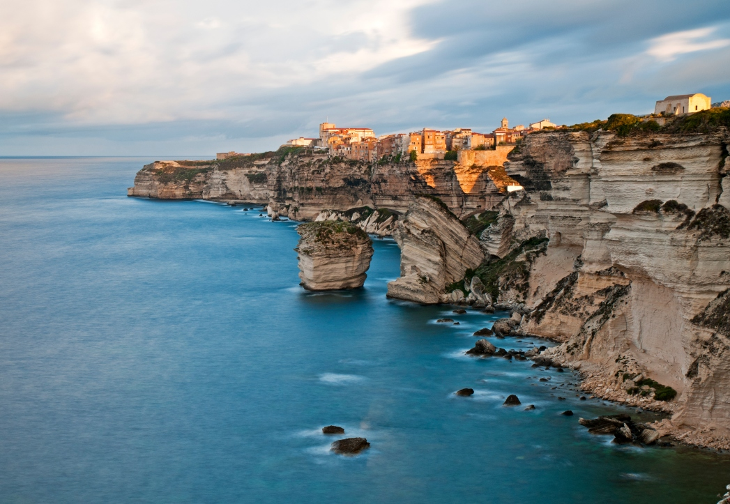 La costa della Corsica