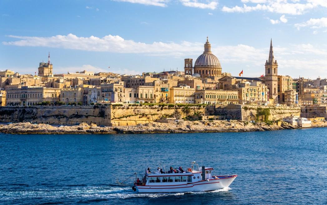 Città europee economiche: La Valletta