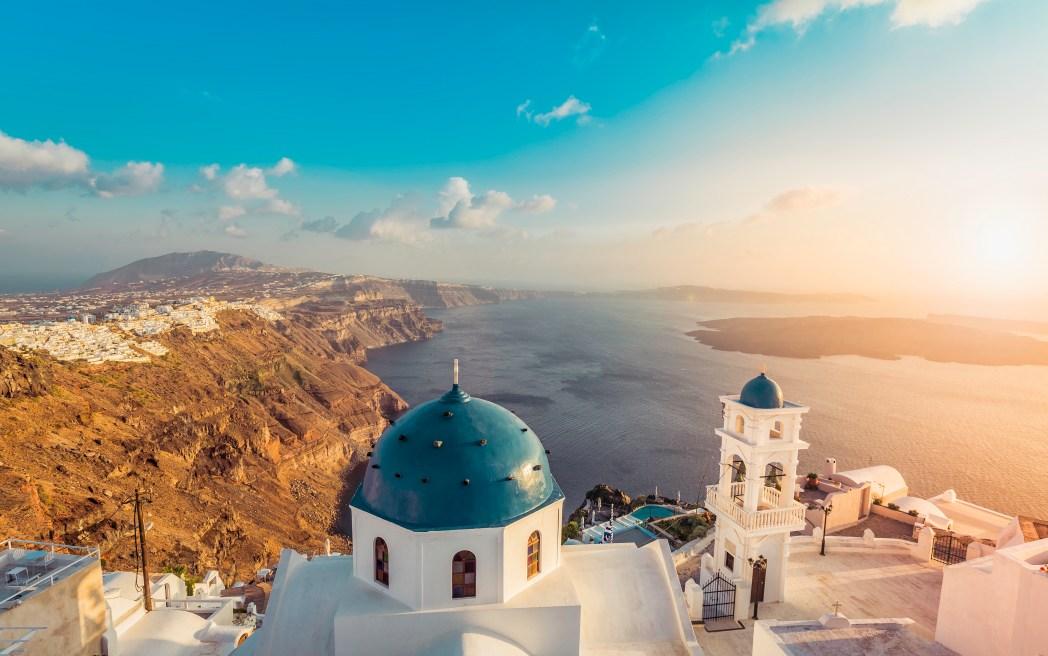 I 20 tramonti più belli d'Europa: Santorini