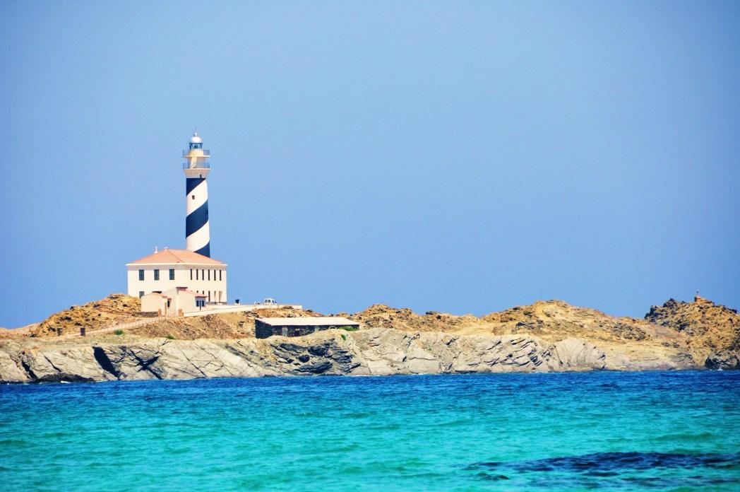 Faro de Favàritx en Menorca