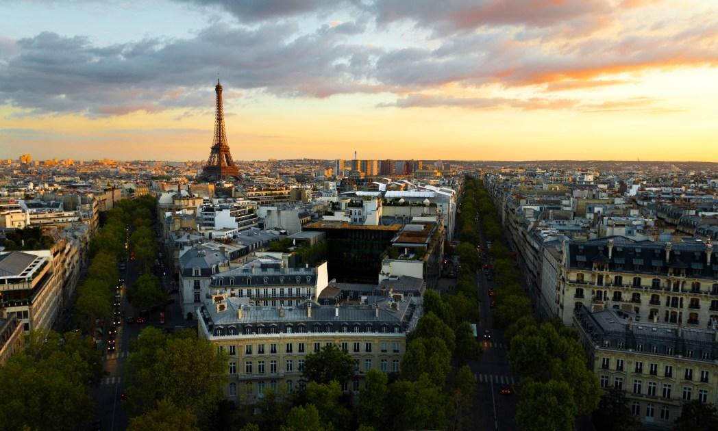Vacanze a settembre, Parigi
