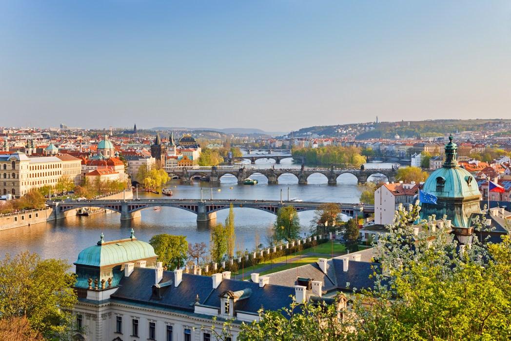 Voli low cost Ferragosto: Veduta di Praga