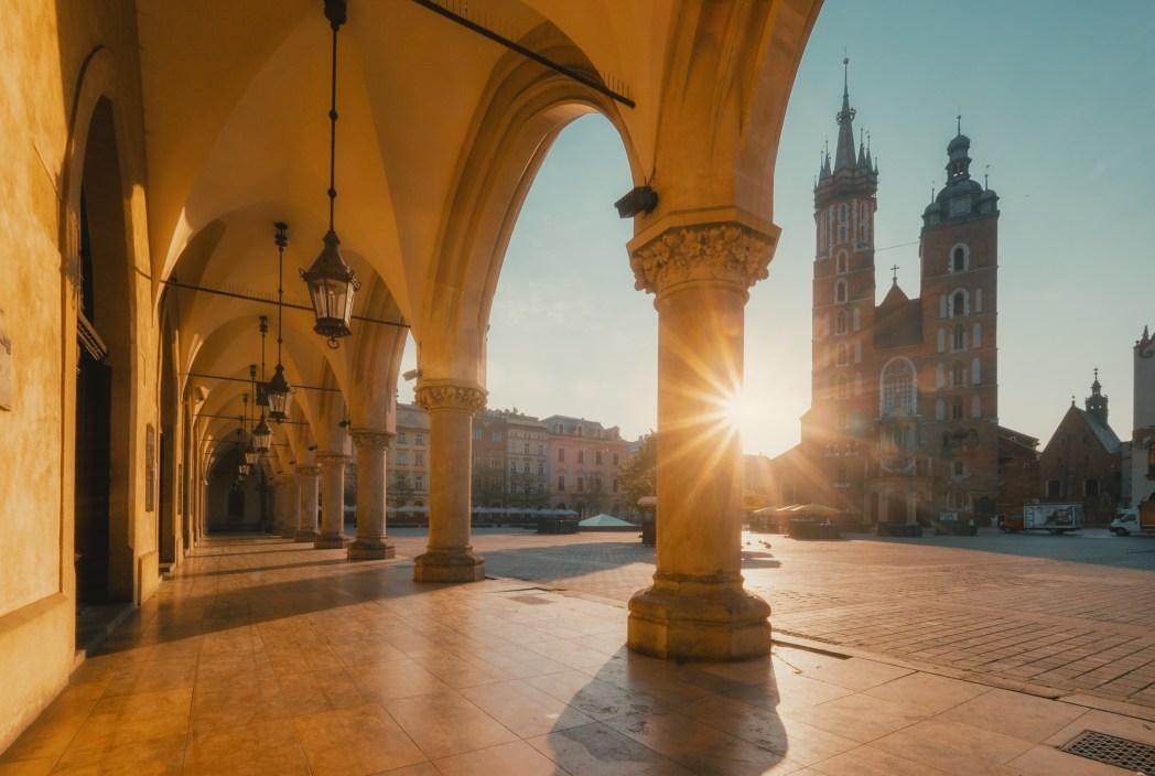 I 20 tramonti più belli d'Europa: Cracovia