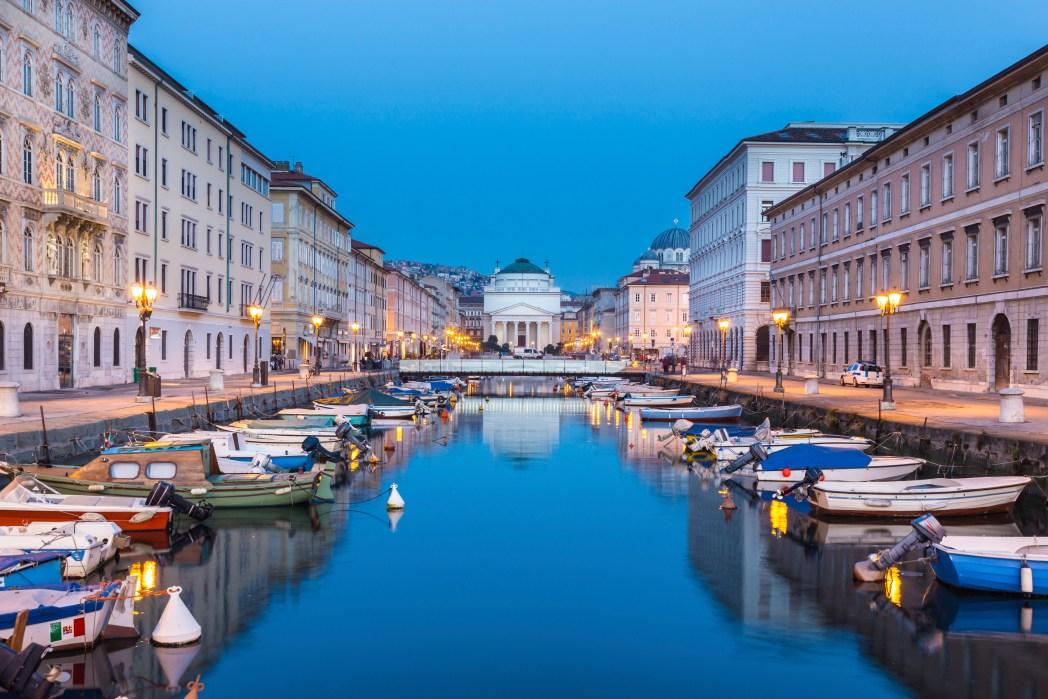 18 città italiane per il 2018: Trieste