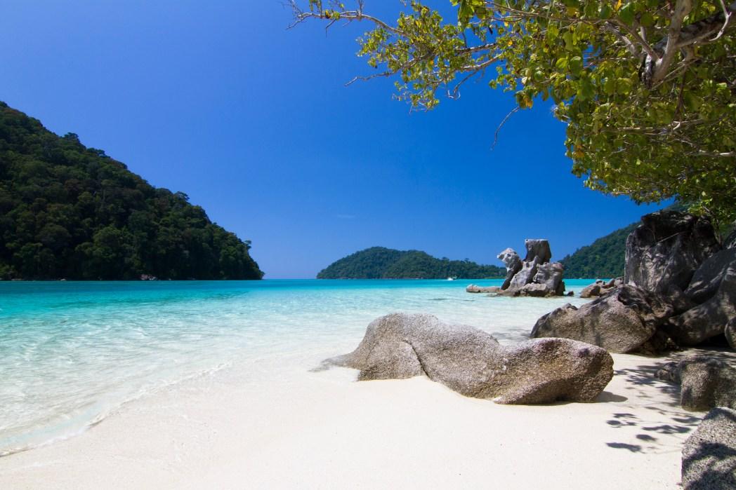 Andamane, Thailandia, Isole Surin