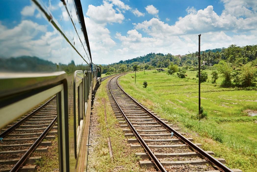 Treno in Sri Lanka