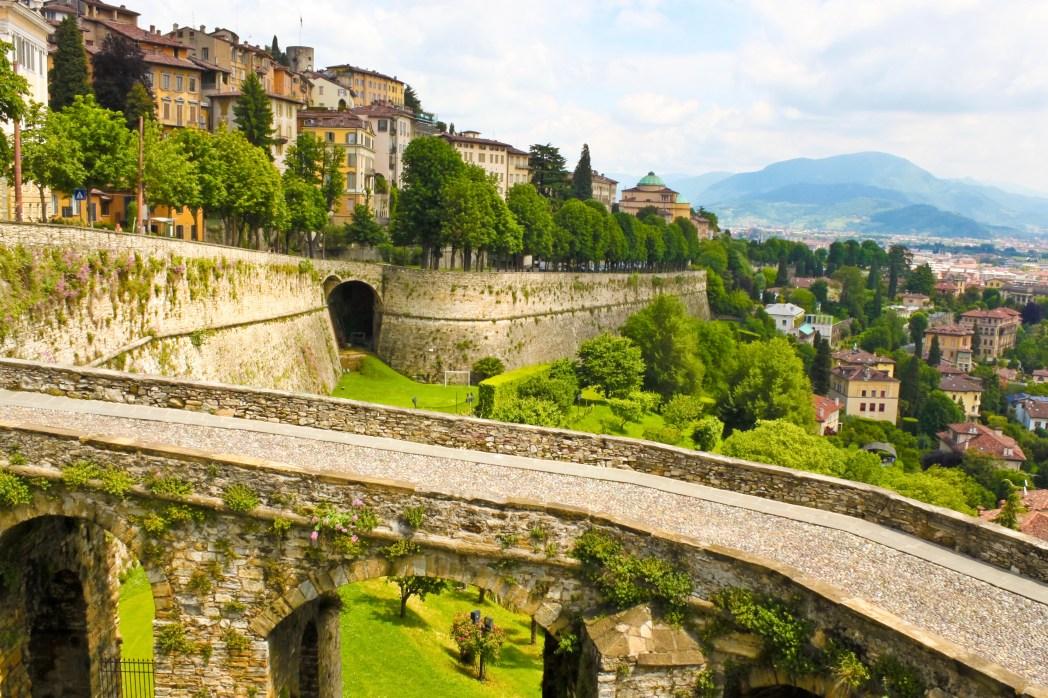 Bergamo cosa vedere: Bergamo Alta e bastioni