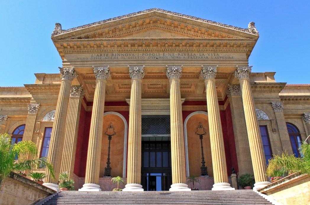 Quartieri di Palermo: Teatro Massimo, Palermo