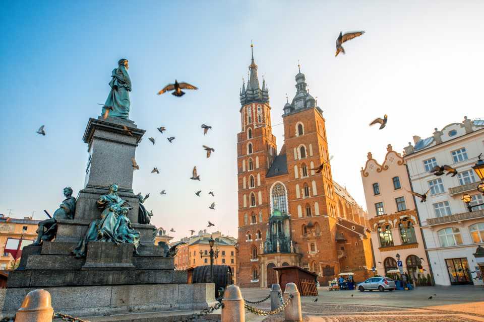 Estate 2018 voli low cost: Cracovia