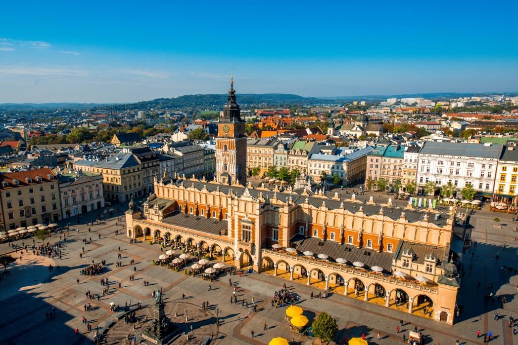 Città europee economiche: Cracovia