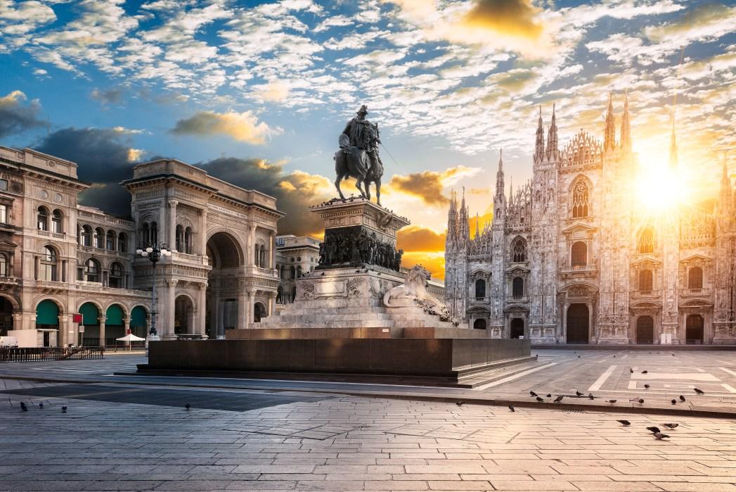 Quartieri di Milano - piazza Duomo