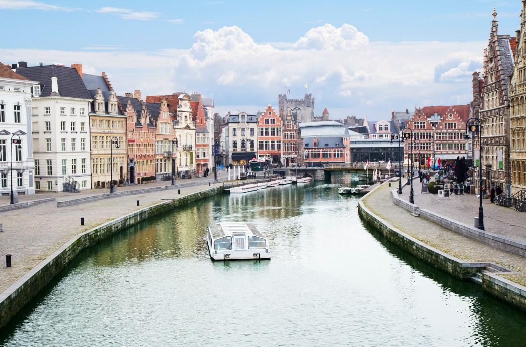Ghent, canali