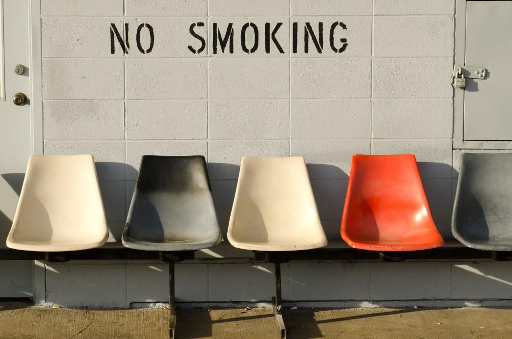 No smoking area