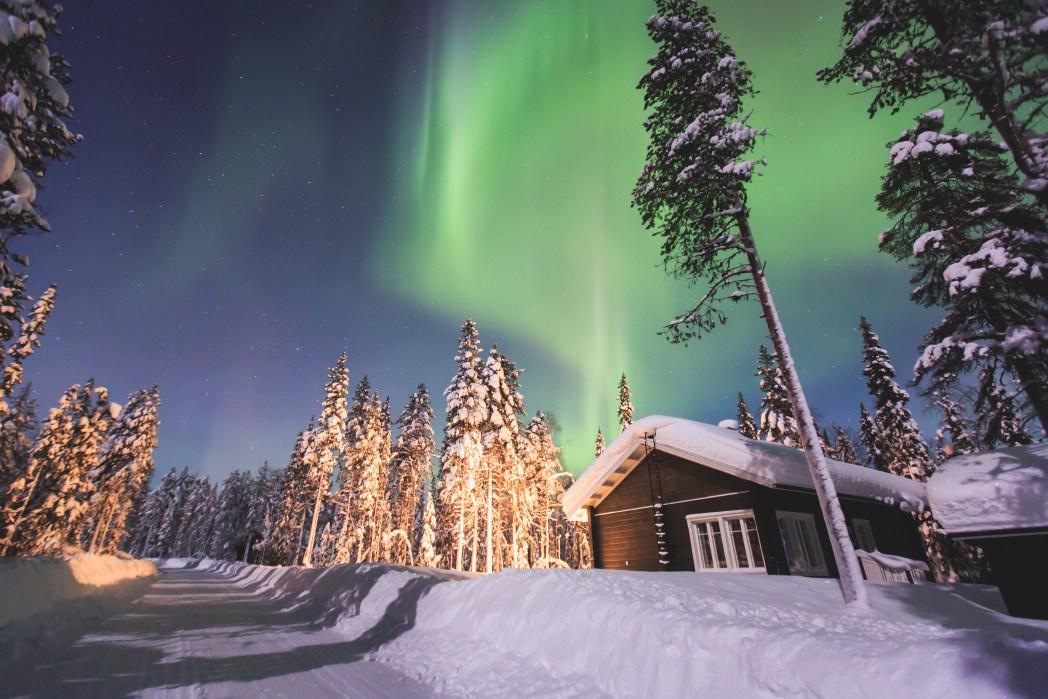 Viaggio in Lapponia: Aurora Boreale