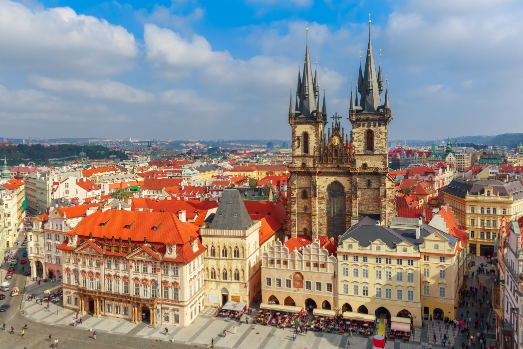 Città europee economiche: Praga