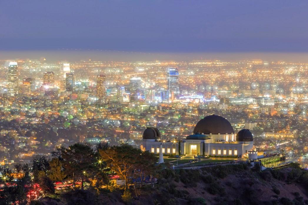 Los Angeles vista dall'Osservatorio Griffith