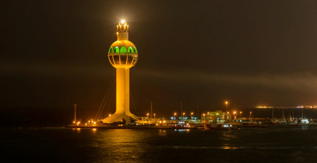 Faro de Yeda en Arabia Saudita