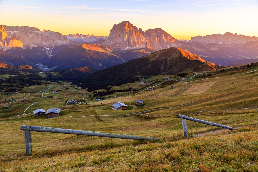 I 20 tramonti più belli d'Europa: Dolomiti