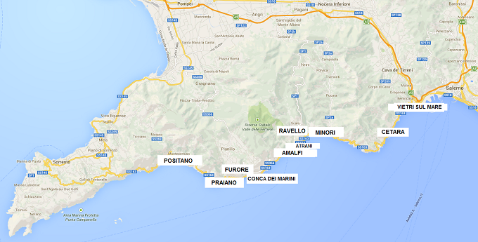 Costiera Amalfitana, Road Trip