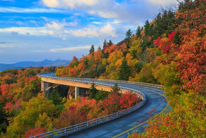 America Blue Ridge Parkway