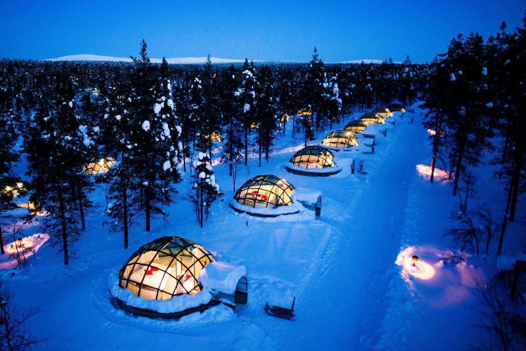 Viaggio in Lapponia: Artic Resort Kakslauttanen, igloo di vetro