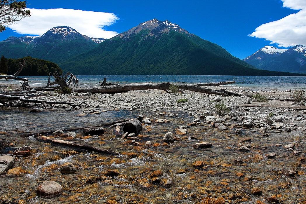 Viaggio in Patagonia, Argentina - Bariloche - lago nel Parque National Nahuel Huapi