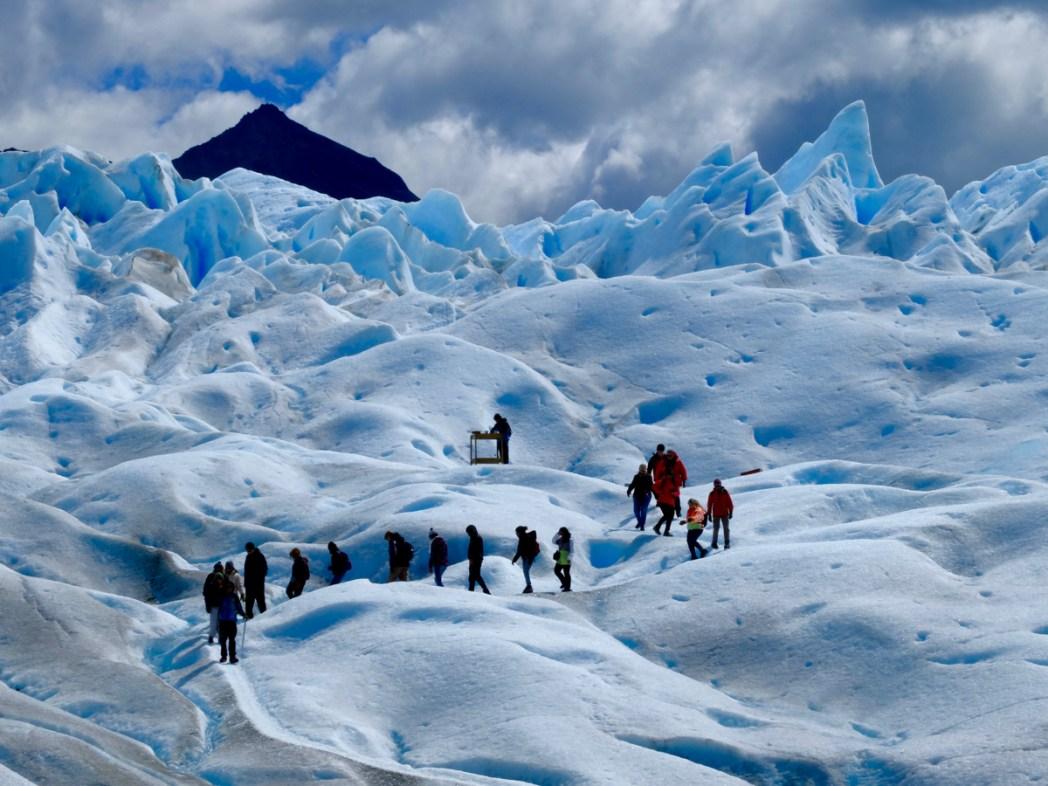 Patagonia argentina, trekking sul Perito Moreno