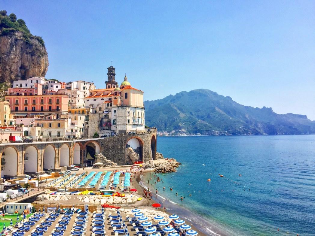 Spiagge più belle d'Italia 2018: Spiaggia di Atrani