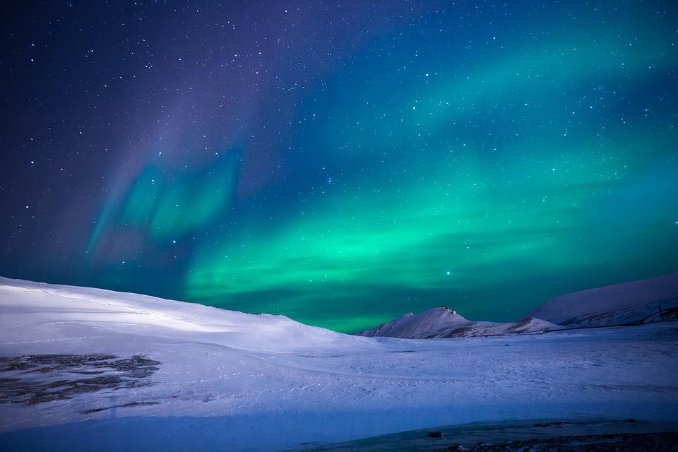 Notte d'Aurora Boreale