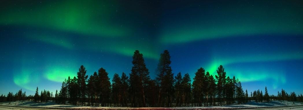 Finlandia, Aurora boreale