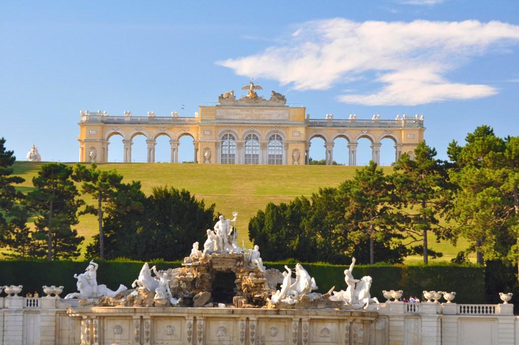 Vienna, palazzo Schoenbrunn