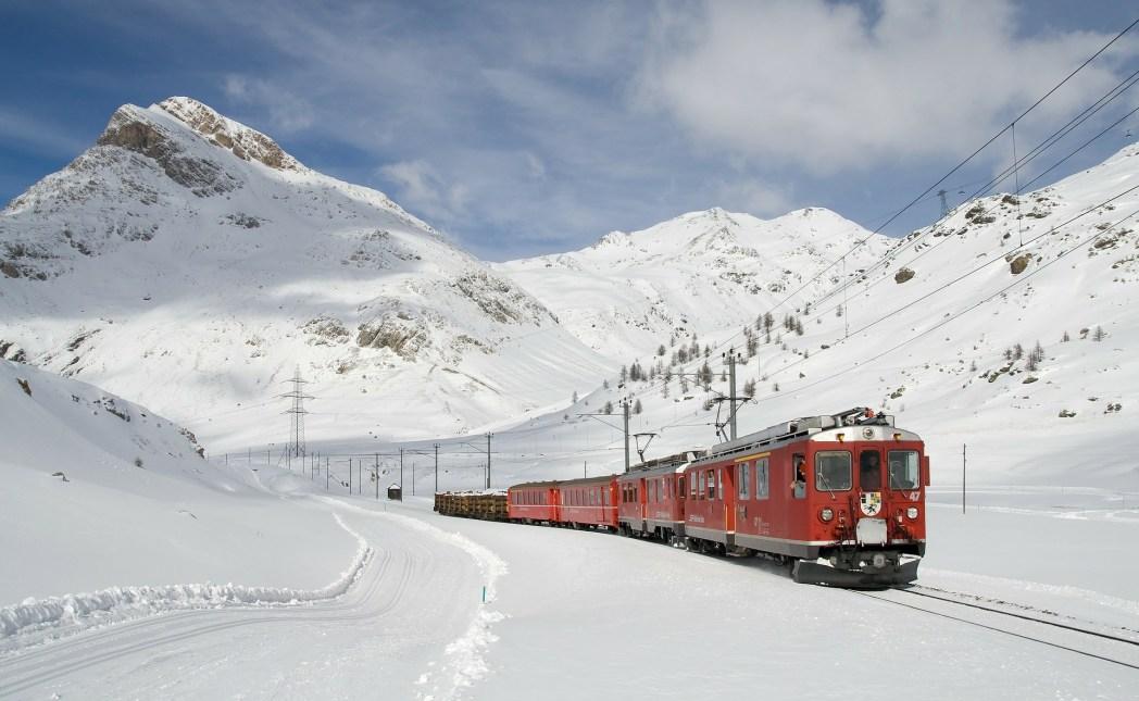 Cosa fare vicino Milano - il trenino rosso del Bernina