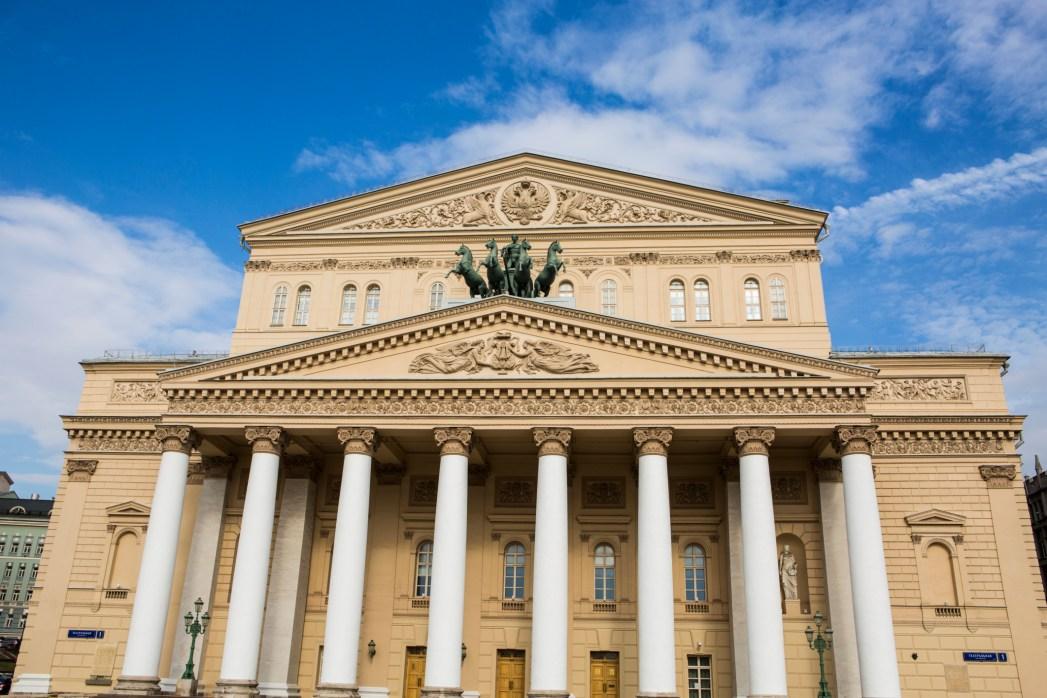 Il bellissimo Teatro Bolshoi